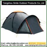 Barraca de acampamento feita sob encomenda luxuosa da família da tampa impermeável de 4 pessoas