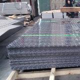 201 202 304 316 diamants feuille de métal laminées à chaud