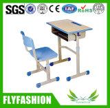 Cadeira de madeira durável da mesa e do plástico do estudante da escola preliminar (SF-22S)