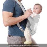 Младенец и малыш проложили Backpack несущей младенца головной поддержки Breathable 360 Китай