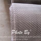 La aplicación de la pantalla y el tipo de tejido de malla de alambre de acero inoxidable 316