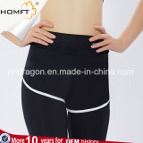 高いウエストの女性のタイツのヨガの連続した試しの適性の足首長さによっては体操のためのヨガのCapriズボンが喘ぐ