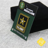 Custom/Honra/Venda/Metal/Army/Nome/Militar/esmalte/polícia/Badge OEM