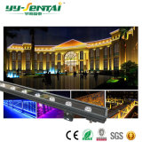 Indicatore luminoso impermeabile della rondella della parete di colore popolare LED di 12W RGB/Single