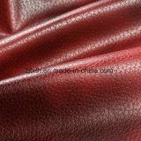 La alta calidad de cuero falso tejido de terciopelo para el sofá (YN001)