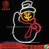 Indicatore luminoso della decorazione del pupazzo di neve di natale LED per la via