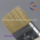 Pinceaux de cheveu de porc de 3 pouces avec le traitement en bois mince