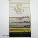 Ligados jacquard 100% poliéster textil hogar Sofá almohada Tapizados