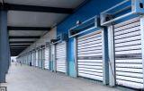 De aluminio automáticos ahorros de energía ruedan para arriba la puerta de alta velocidad del obturador del rodillo