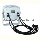 Vello LED RGBW 세척 방수 옥외 Parcan 단계 빛 (LED 땅 Radar18)