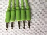 """3,5 mm Mono 1/8"""" de câbles de raccordement pour synthétiseur modulaire Eurorack lueur dans l'obscurité"""
