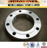 Cl150 de acero inoxidable ANSI B16.5 Un182 304 Pn16 Slip en la brida