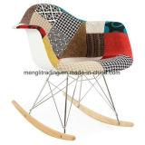 Conjunto de 4 Cadeira de tecido de radar de balanço