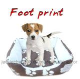 Base polare stampata del cane del panno morbido