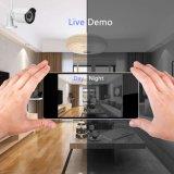 4CH imperméabilisent des nécessaires de l'appareil-photo NVR d'IP de degré de sécurité de télévision en circuit fermé d'appareil-photo d'IR