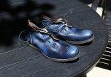 De oude Toevallige Schoenen van het Leer van de Mensen van de Koe Outsole van de Stijl Vlakke