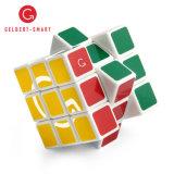 2018 горячей рекламных подарков новый дизайн 3X3X3 см головоломки пластмассовые Magic Cube 3X3