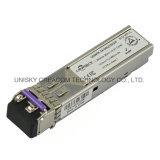 1,25GB/s Bidi 70km Transceptor óptico SFP com Ddmi