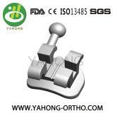 Ортодонтические зубоврачебные 022 шлица 3 крюков расчалки кронштейнов металла Edgewise