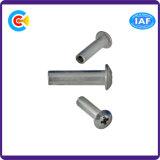 Parafuso mecânico da indústria do aço de carbono de DIN/ANSI/BS/JIS/conetor transversal redondo Stainless-Steel da luva de conexão