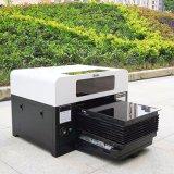 Impresora ULTRAVIOLETA plana de A3 LED para el teclado de cristal de madera de acrílico de la pluma del metal