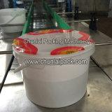 Máquina plástica da selagem da película de rolo do balde