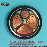 Cable de transmisión acorazado aislado XLPE medio del alambre de acero del voltaje