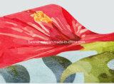 Couvre-tapis estampé polychrome fait sur commande lavable de souris de suède
