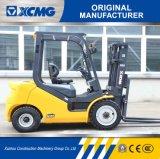 XCMG販売のためのTriplexマストの側面シフトが付いている2.5トンのディーゼルフォークリフト
