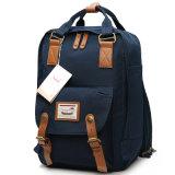 Круглые Macaroon Canvas рюкзак рюкзак ЭБУ подушек безопасности школы
