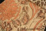 جميلة زهرات وورقة [شنيلّ] جاكار مع [موسيك غلد] ([فث32064])