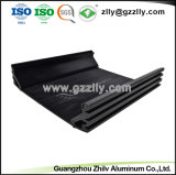 열 싱크 알루미늄 6063 자동 오디오 방열기를 위한 T5 밀어남