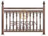 호화스러운 스테인리스 계단 및 담을%s 건축재료