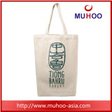 女性のための白いキャンバスのハンドバッグの綿のショッピング浜袋