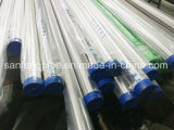 Medidas sanitárias Grau Alimentício aço inoxidável 304 316 soldados tubo polido