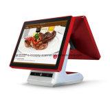 """15"""" pantalla táctil capacitiva de doble caja registradora Icp-Ea10s para Android POS supermercado/Sistema/restaurante/Retail"""