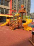 옥외 아이들 운동장 장비 나무로 되는 시리즈 HD16-168A