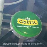 Cadre de aspiration ovale acrylique d'éclairage LED