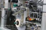 De volledige Automatische Bovenkant die van de Bodem en de Machine van de Etikettering verzegelen