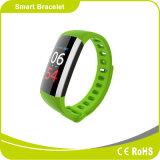 Venta caliente la frecuencia cardiaca de la presión arterial brazalete Bluetooth Smart