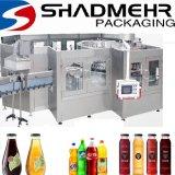 Máquina de rellenar líquida automática del agua de botella con el etiquetado del embalaje