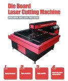 El CO2 de acrílico muere la cortadora del laser de la tarjeta
