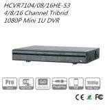 4/8 / 16CH Tribrid 1080P Mini 1u Hdcvi DVR {Hcvr7104 / 7108 / 7116he-S3}