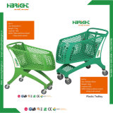 Goedkope Boodschappenwagentje van de Kruidenierswinkel van het Karretje van de Supermarkt van het metaal het Kleinhandels van China