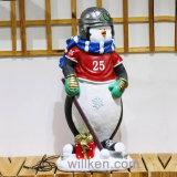 [هيغقوليتي] عيد ميلاد المسيح موضوع رجل ثلج تمثال صغير زخارف خارجيّة