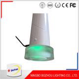 Lámpara de la luz del vector del LED con dos colores ligeros