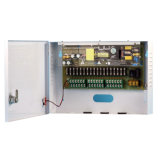AC gelijkstroom 110V gelijkstroom van de Levering van de Macht van kabeltelevisie de Levering van de Macht van de Kanalen van de Output 12V 15A 9