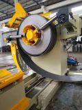 Lpg-Zylinder drei in einer mechanischen Decoiler, Geraderichtenund Leerzeile