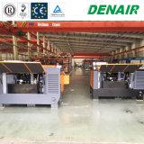 Compressore d'aria motorizzato diesel montato rimorchio della vite senza rotella