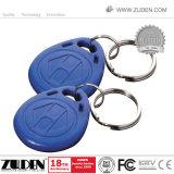 アクセス制御のための印刷125kHz Tk4100の近さRFID Keyfob